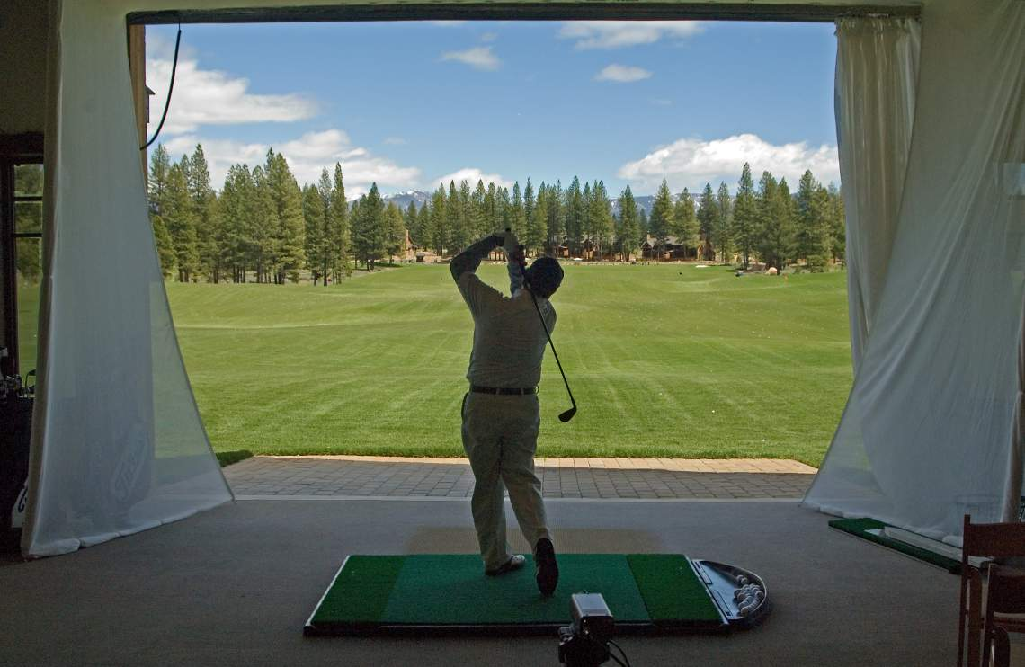 Golf Academy Booth